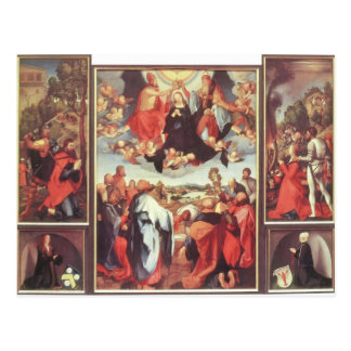 Altarpiece de Matías Grünewald- Heller Postal