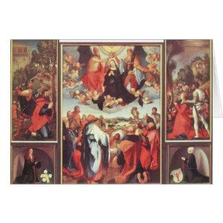 Altarpiece de Matías Grünewald- Heller Tarjeta