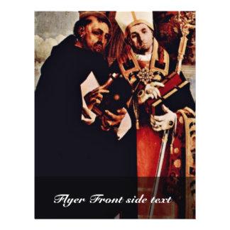 Altarpolyptychon de la izquierda de Recanati: St T Tarjetón