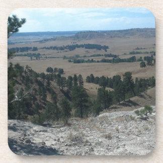 Altas colinas del desierto posavasos