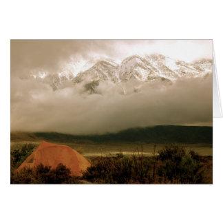 Altas sierras del camping de la cala de Horton Felicitaciones