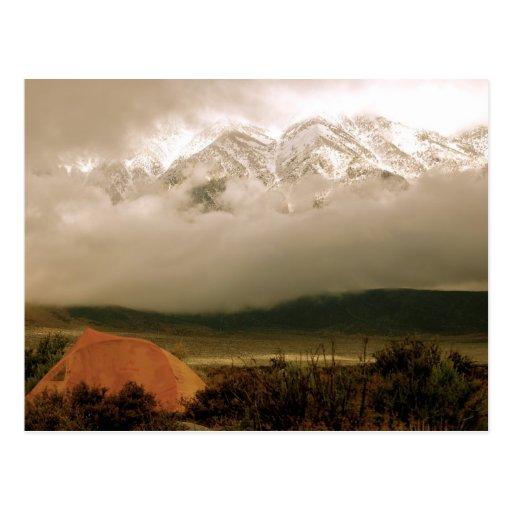 Altas sierras del camping de la cala de Horton Postal