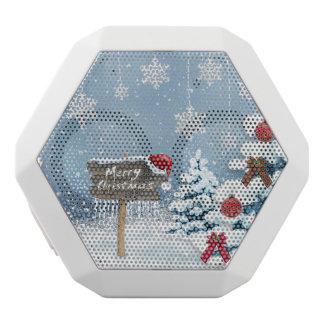 Altavoz Blanco Con Bluetooth Arte del navidad - ilustraciones del navidad