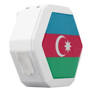 Altavoz Blanco Con Bluetooth Bandera de Azerbaijan