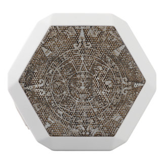 Altavoz Blanco Con Bluetooth Calendario maya