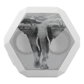 Altavoz Blanco Con Bluetooth Elefante - arte de la exposición doble