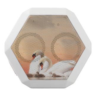 Altavoz Blanco Con Bluetooth Familia del cisne