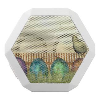 Altavoz Blanco Con Bluetooth Huevos coloridos para pascua - 3D rinden