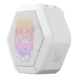 Altavoz Blanco Con Bluetooth León