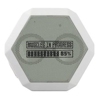 Altavoz Blanco Con Bluetooth Muscles el entrenamiento en curso Z8gnr