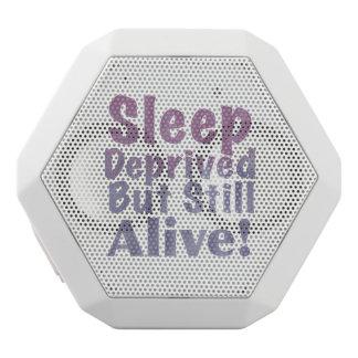 Altavoz Blanco Con Bluetooth Sueño privado pero aún vivo en púrpuras