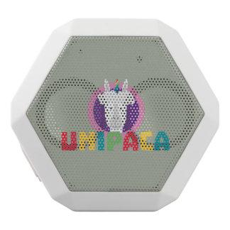 Altavoz Blanco Con Bluetooth Unicornio Unipaca Z4srx de la alpaca
