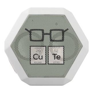 Altavoz Blanco Con Bluetooth Vidrios lindos Zwp34 del empollón del elemento