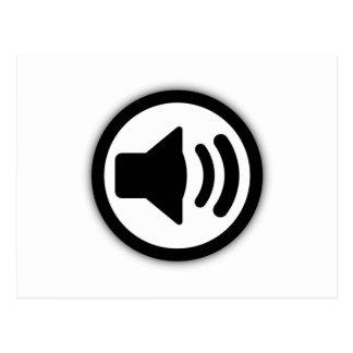 Altavoz de audio postal