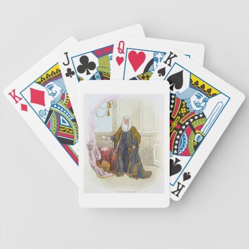 Altavoz de la Cámara de los Comunes, del 'traje de Baraja Cartas De Poker