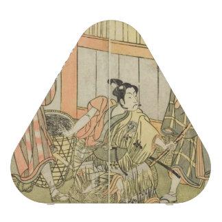 Altavoz de los actores de Katsukawa Shunsho tres