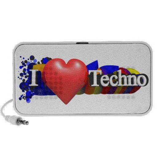 Altavoz de Techno del corazón I