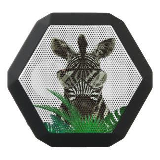Altavoz Negro Con Bluetooth Animal del estilo de la cebra del inconformista
