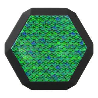 Altavoz Negro Con Bluetooth Escalas azulverdes de Falln