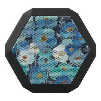Altavoz Negro Con Bluetooth Flores del añil
