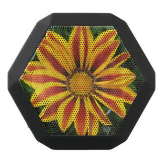 Altavoz Negro Con Bluetooth Foto anaranjada hermosa de la flor de Sun