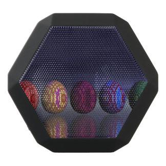 Altavoz Negro Con Bluetooth Huevos coloridos para pascua - 3D rinden