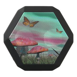 Altavoz Negro Con Bluetooth Jardín de la fantasía - 3D rinden