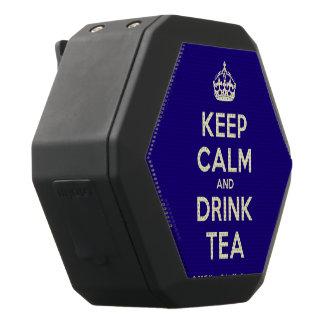 Altavoz Negro Con Bluetooth Mantenga té tranquilo y de la bebida