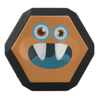 Altavoz Negro Con Bluetooth Monstruo lindo de ojos azules divertido