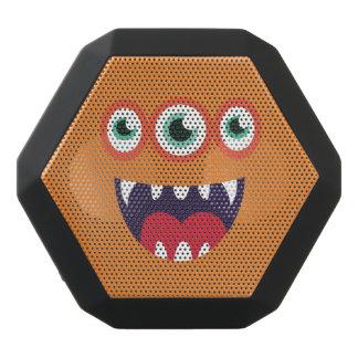 Altavoz Negro Con Bluetooth Monstruo lindo Tres-Observado divertido