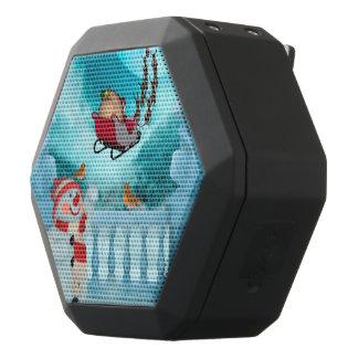 Altavoz Negro Con Bluetooth Navidad diseño, Papá Noel
