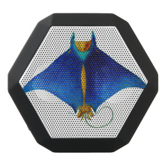 Altavoz Negro Con Bluetooth rayo de manta