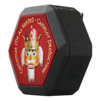Altavoz Negro Con Bluetooth Rey divertido del cascanueces