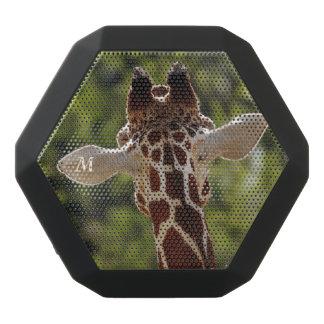Altavoz Negro Con Bluetooth Serie del monograma: La jirafa