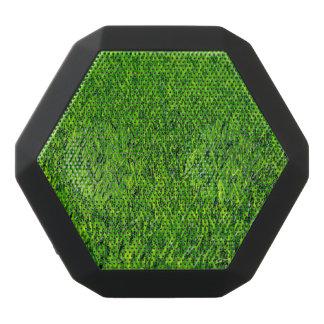 Altavoz Negro Con Bluetooth Textura verde de la hierba del verano