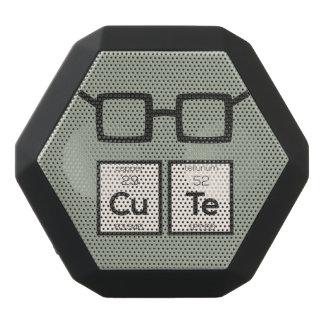 Altavoz Negro Con Bluetooth Vidrios lindos Zwp34 del empollón del elemento