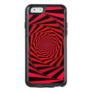 Alternativa espiral roja funda otterbox para iPhone 6/6s