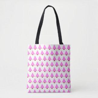 alternativa rosada de la bolsa de asas del árbol