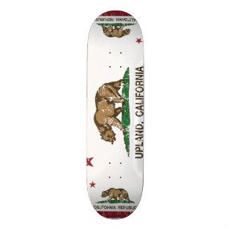 Altiplanicie de la bandera del estado de Californi Tabla De Skate