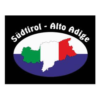 Alto Adige - Alto Adige Italia - Italia tarjeta