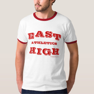 Alto atletismo del este camiseta