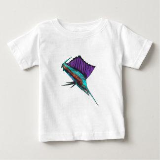 Alto aviador camiseta de bebé