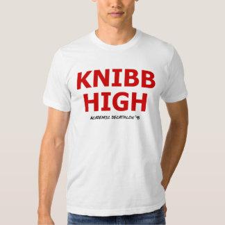 Alto Decathlon académico '95 de Knibb Camiseta