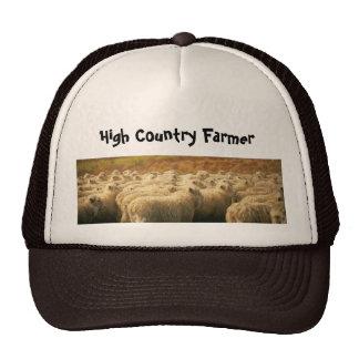 Alto gorra del granjero del país