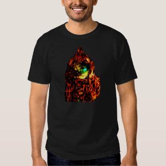 Alto hombre de Astro de la llama Camisas