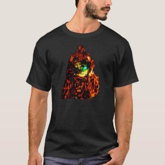 Alto hombre de Astro de la llama Camiseta