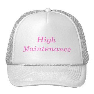 alto mantenimiento gorras