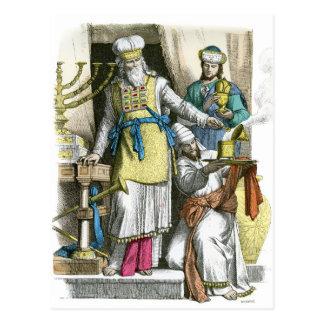 Alto sacerdote judío a partir antes de la época de postal