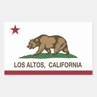 Altos del Los de la bandera del estado de Rectangular Altavoces