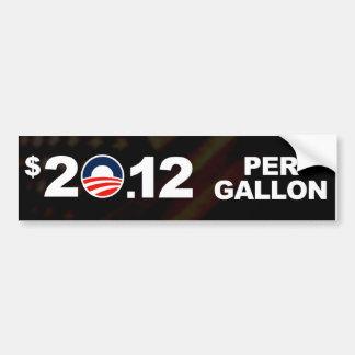 Altos precios de la gasolina agradables pegatina para coche